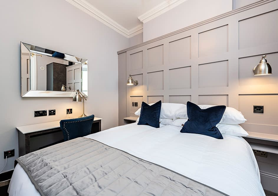 Georgian Rooms Double Bedroom