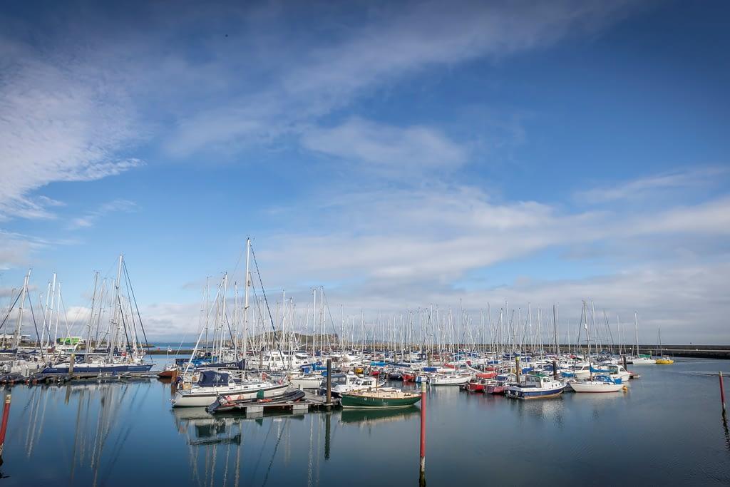 Howth Harbor Boats